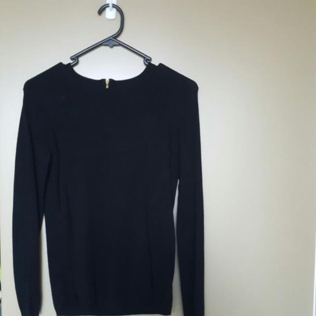 Zara Knit In Black