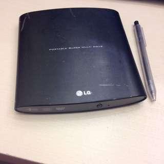 LG多功能外接式燒錄機