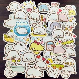 INSTOCKS Mamegoma Pack Of Stickers