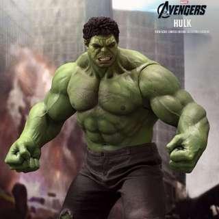 Hot Toys MMS186 Hulk Avengers MIB