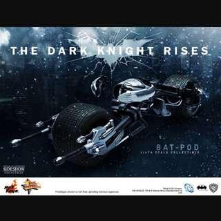 Hot Toys MMS 177 Batpod Dark Knight Rises