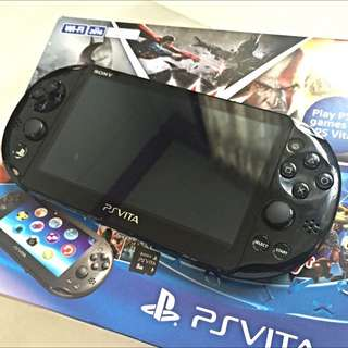 Used PS VITA Slim PCH-2016 WIFI With 16GB MEMORY CARD