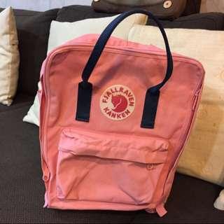 (待面交)kanken 狐狸包 空肯包 粉紅色包包