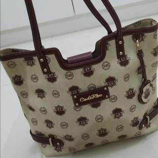 Carlo Rino Leather Bag