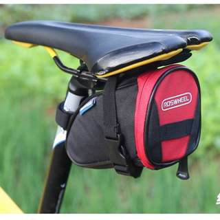 Roswheel® 13656 Outdoor Waterproof 1L Storage Bicycle Cycling Saddle Bag Tail Bag Cellphone Bag Under Seat Packs Tail Pouch with Reflective Logo Can Place Tail Light