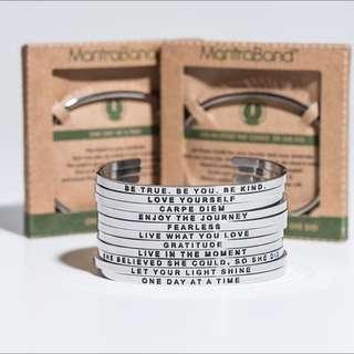 MantraBand 美國悄悄話手環