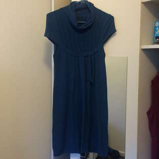European Woollen Smock Dress 10