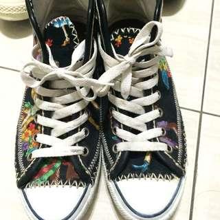 S.h.owin 天福哥自製帆布鞋 僅此一雙 Us8