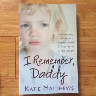 Novel - I Remember, Daddy
