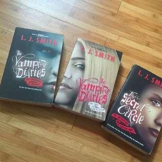 Novel - Vampire Diaries