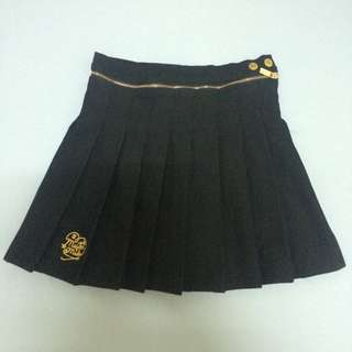 MJR 黑色百褶裙 S