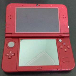 New 3DS ll(金屬紅) + 魔物獵人4G