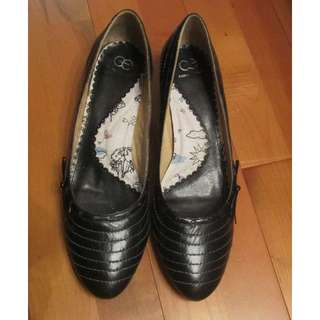 COMFORT & EASY 女裝 高跟尖頭鞋 黑色 39碼