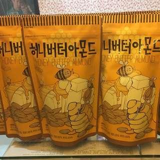代售)蜂蜜奶油杏仁果(250g