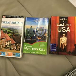 Travel Books - USA & Great Britain - Great Sale For Books