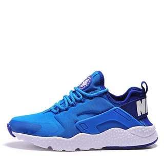 Nike Air Huarache 武士二代 湖水藍 白底 慢跑鞋