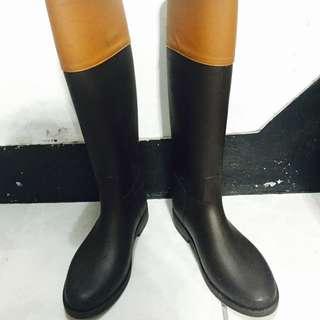 漸層 雨靴 S號 適合35-37穿 (23號)