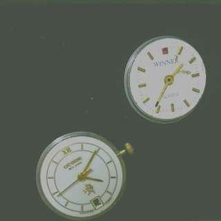 老物 錶面改造耳環 蒸汽龐克 pinkoi