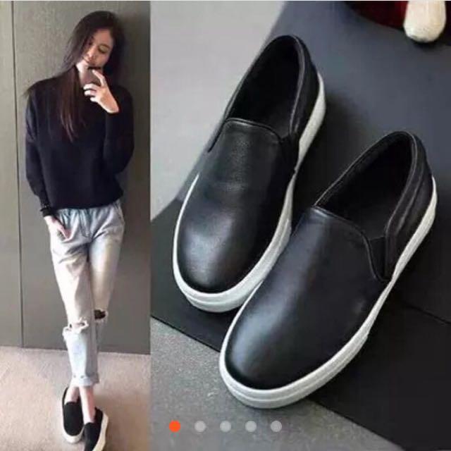 全新✨黑色懶人鞋