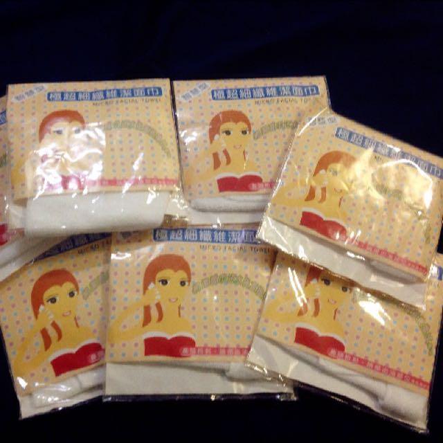 全新智慧型極超細纖維潔面巾(8包)