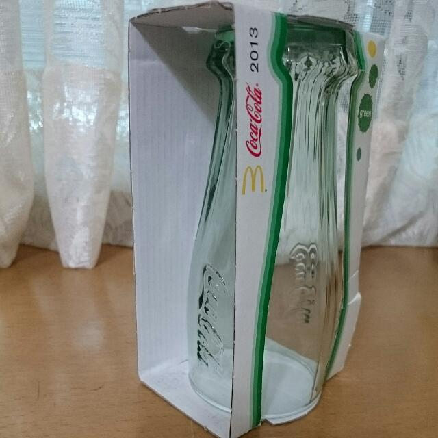 可口可樂玻璃杯 湖水綠