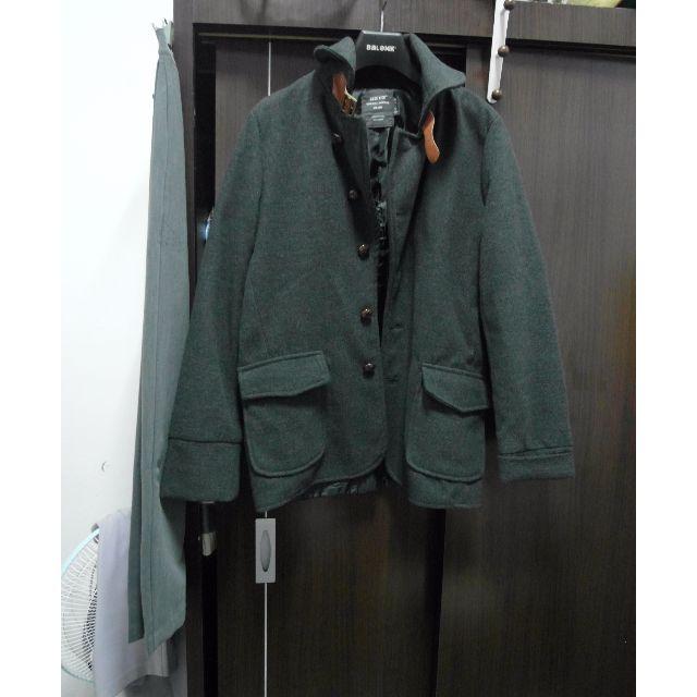(免運) 灰色挺版外套