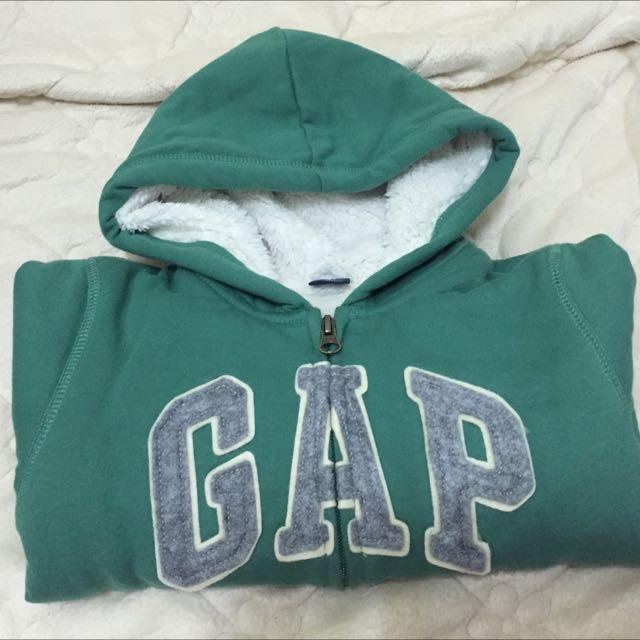 (代售 Gap羔羊毛logo外套