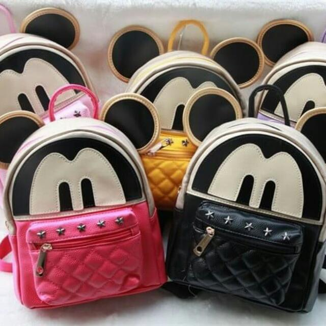 Backpack MICKY MOUSE SMALL