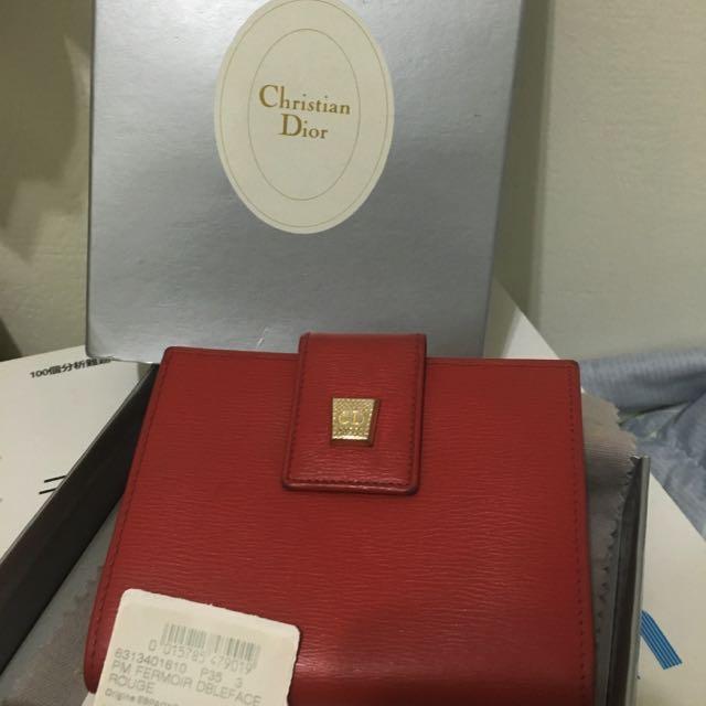 Christian Dior復古短夾