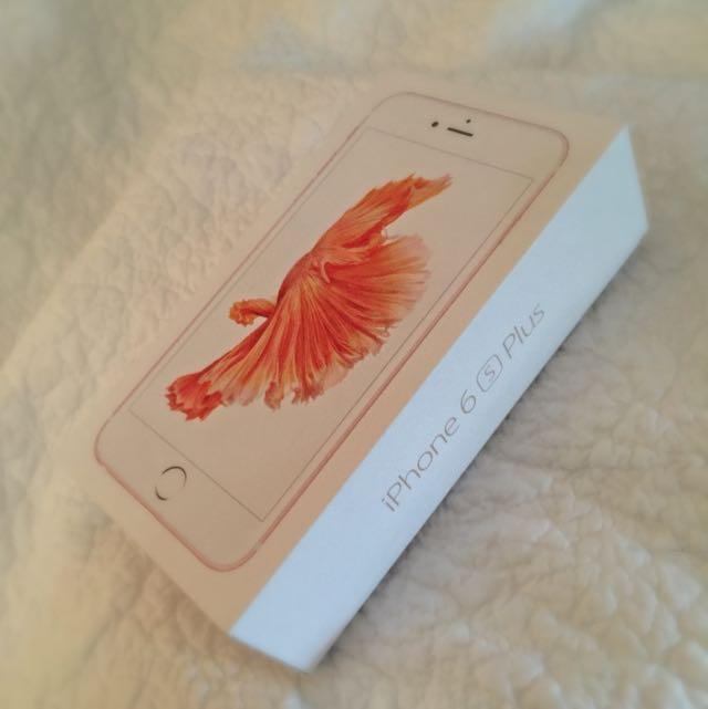 iPhone 6S PLUS- 64 GB (Rose Gold)