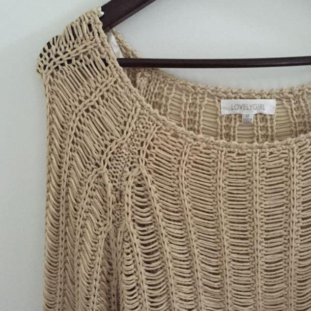 Loose Knit Jumper