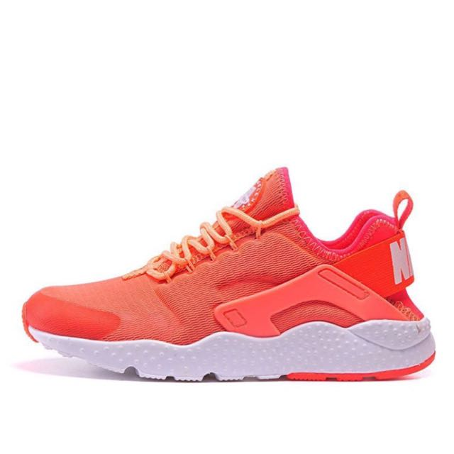 Nike Air Huarache 武士鞋二代 橘白底 慢跑鞋