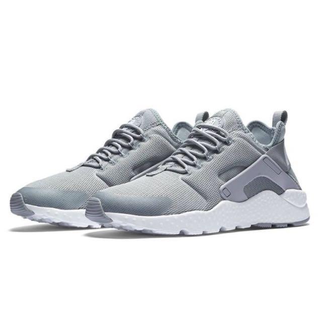 Nike Air HUARACHE 武士二代 灰白 情侶鞋 慢跑鞋