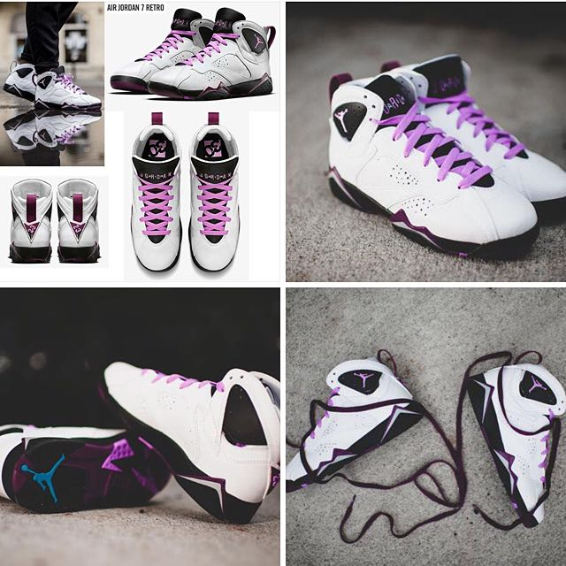 💡NIKE AIR JORDAN 7 RETRO💡白紫 喬登鞋