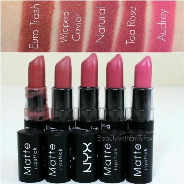 Nyx Matte Lipstick Health Beauty On Carousell