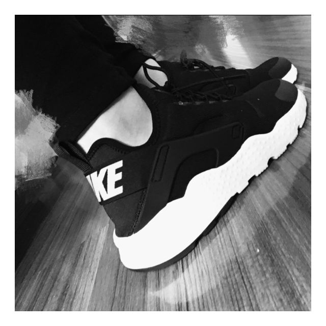 14fd1930d458d ORIGINAL Nike Air Huarache Ultra Black Unisex Sneaker Sport Shoes ...