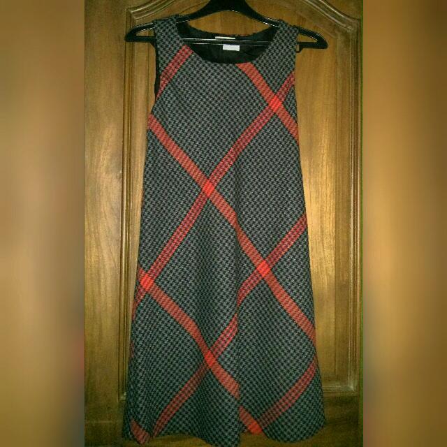 Promod Houndstooth Dress