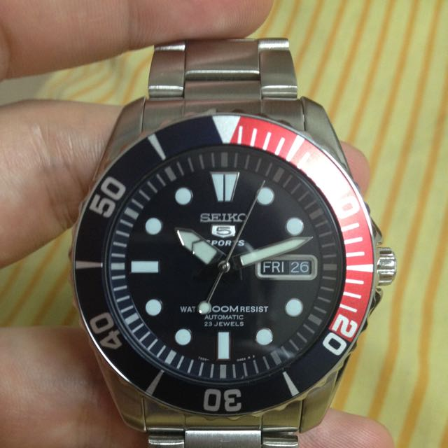 Seiko Sea Urchin SNZF15K1 (reserved till Tuesday)