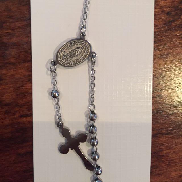 Stainless Steel Rosary Bracelets