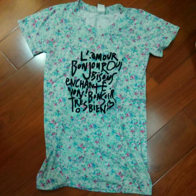 <含運>韓製印花t Shirt