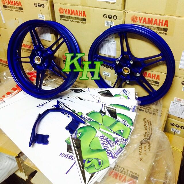 y15zr complete for movistar, Car Accessories on Carousell