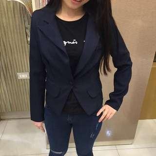 二手西裝外套(藍)