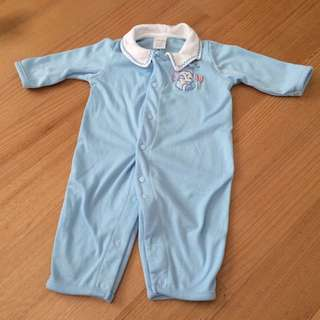 PL- Blue Sleep Romper
