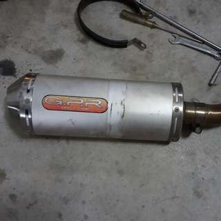 Gpr Exhaust Pipe