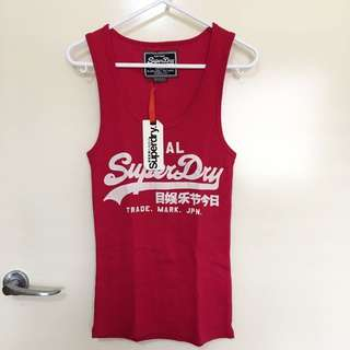 <BRAND NEW> Superdry, Hot Pink Blacklabel Tee Shirt