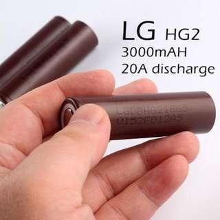 18650 Battery LG