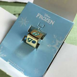 7-11Forzen冰雪奇緣串飾串珠-智慧