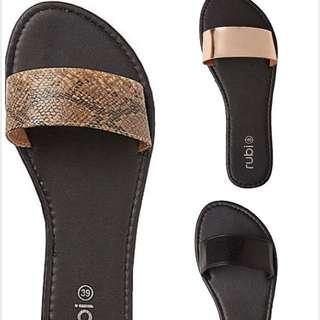 🎉現貨澳洲cotton:on平底拖鞋涼鞋(有大尺碼)