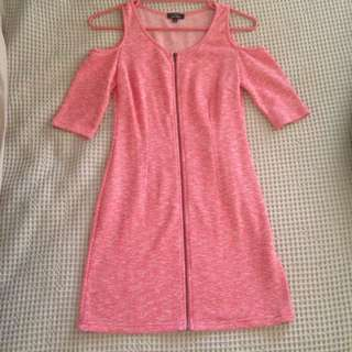 Pink Jersey Bodycon NEVER WORN Dress