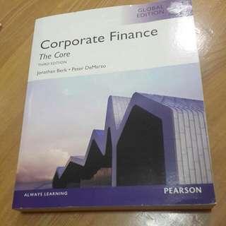 Corporate  Finance 財務報表分析